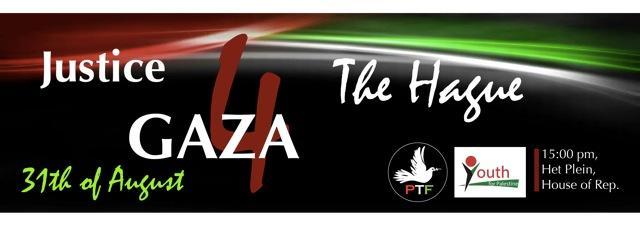 Demonstratie Justice for Gaza - Den Haag