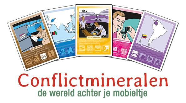 Amsterdam: Conflictmineralen - de wereld achter je mobieltje