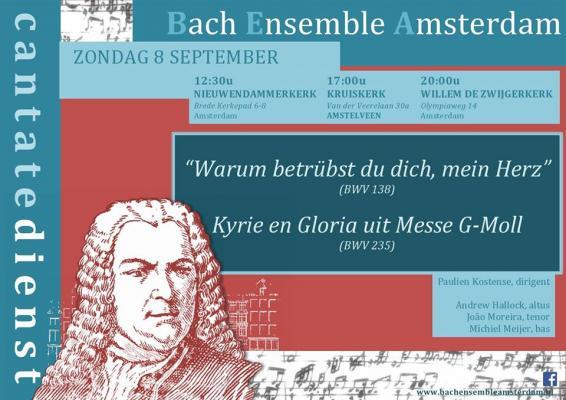 Cantate dienst - Bach Ensemble Amsterdam