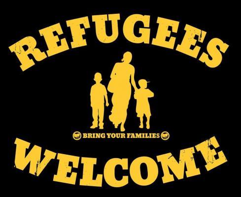 Demonstratie: Refugees Welcome