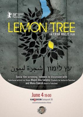 Utrecht:Film screening Lemon Tree (Palestine)