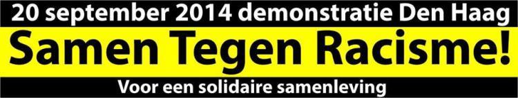 Den Haag: Demonstratie tegen Racisme