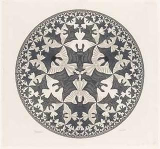 Escher meets Islamic art