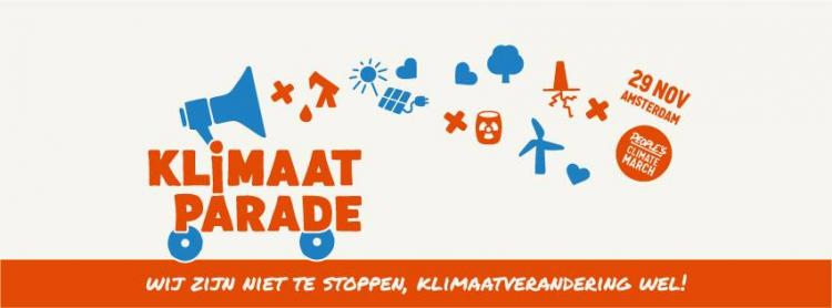 Amsterdam: Klimaatparade