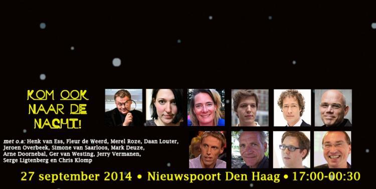 Den Haag: Nacht van de Journalistiek: Pionieren in de Pers