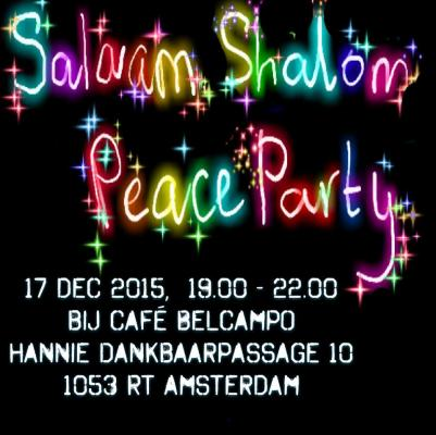 Amsterdam: Salaam Shalom Peace Party